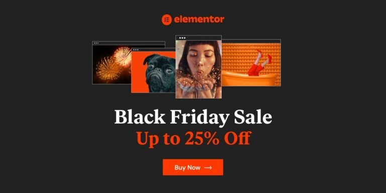 Elementor Pro Black Friday 2020